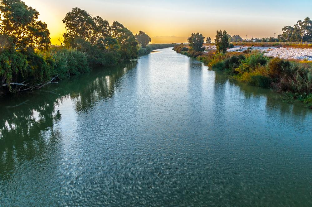Rio Guadalhorce at dawn