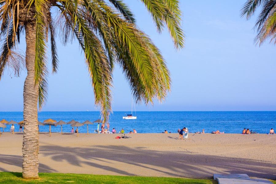 Playa la Malagueta, Málaga