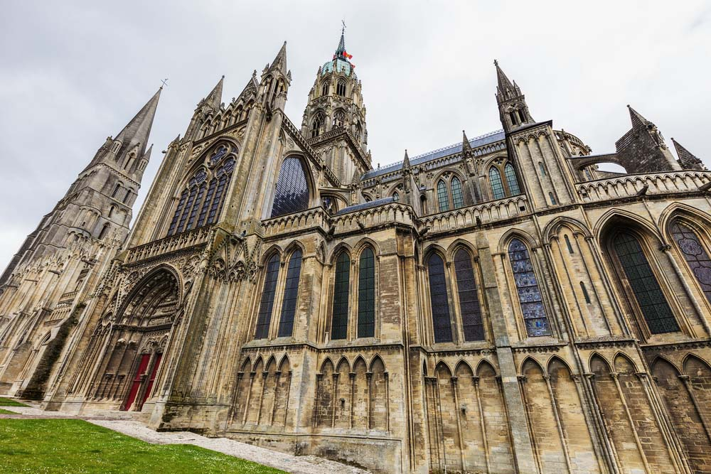 Bayeux Notre-Dame Cathedral.