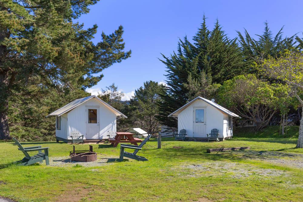 Costanoa tent bungalows