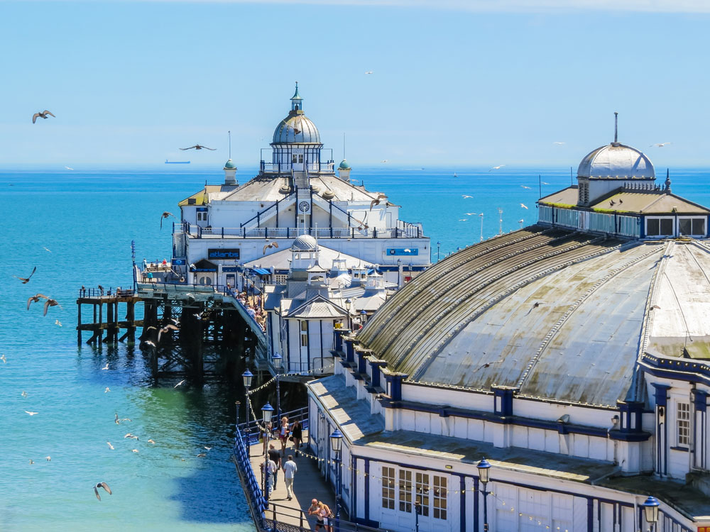 Aerial view of the Eastbourne Pier. Photo: Shutterstock