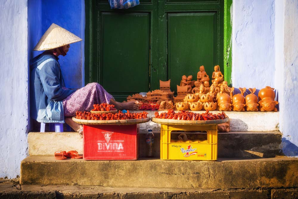 Hoi An street vendor. Photo: Shutterstock