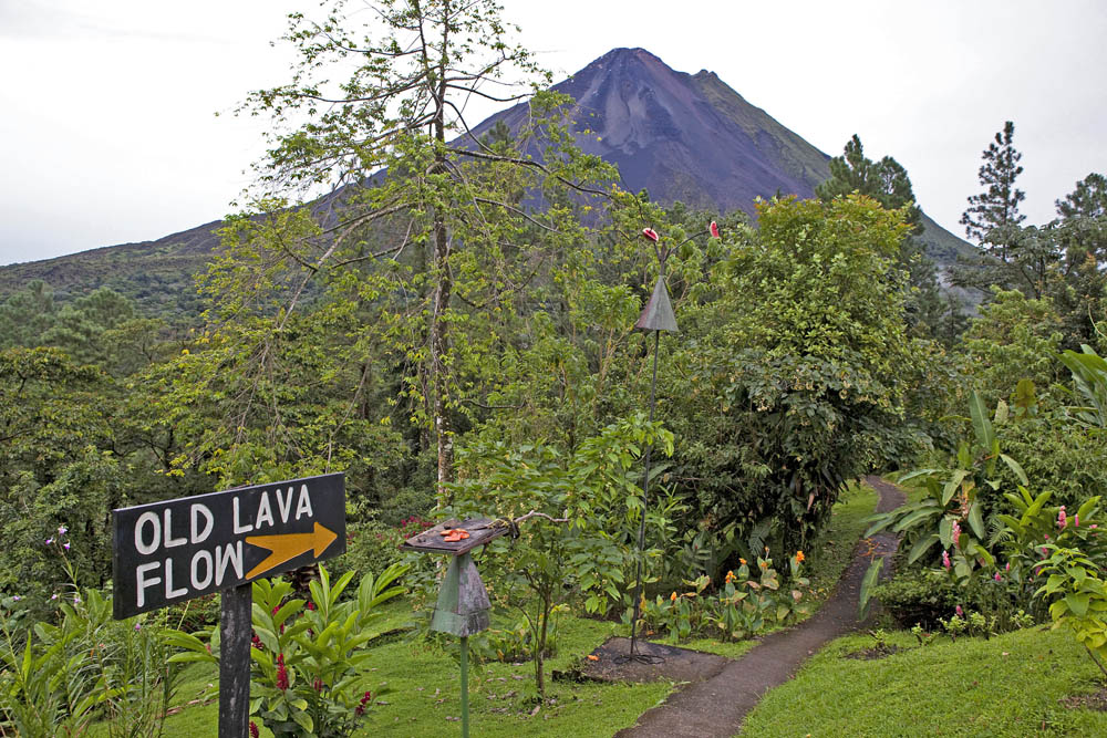 Arenal Observatory lodge, Arenal Volcano.