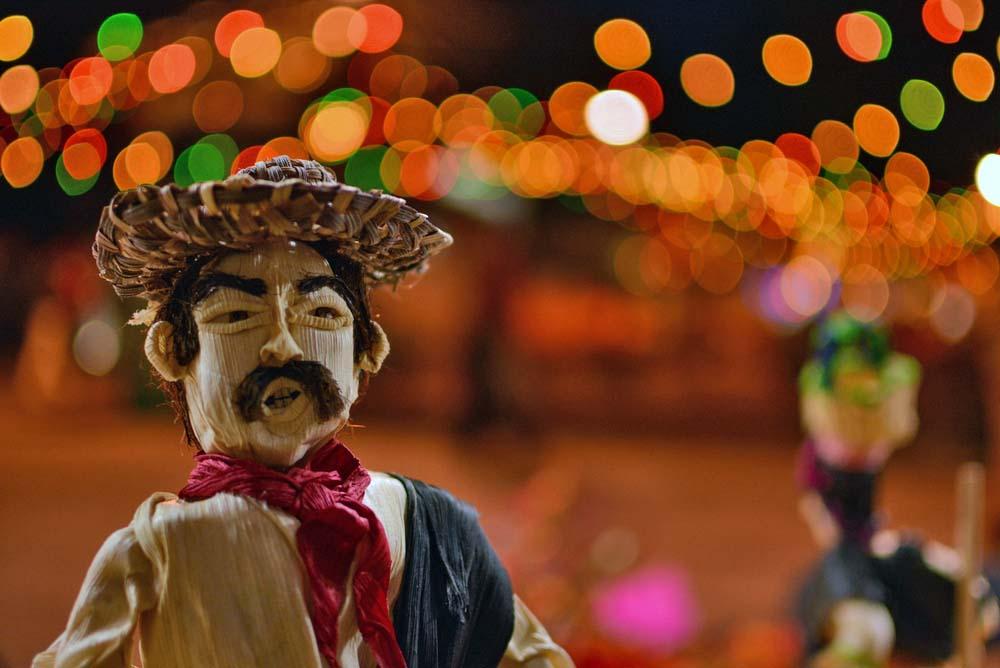 Noche de los rábanos in Oaxaca.