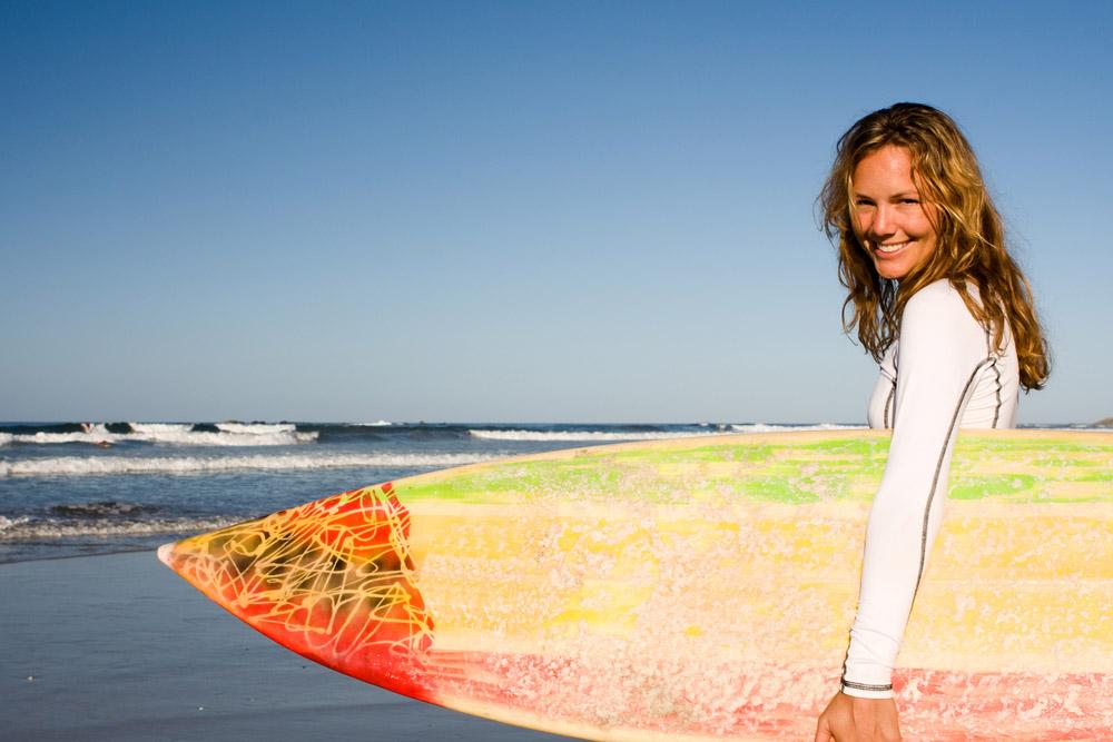 Surfing in Costa Rica. Photo: Shutterstock