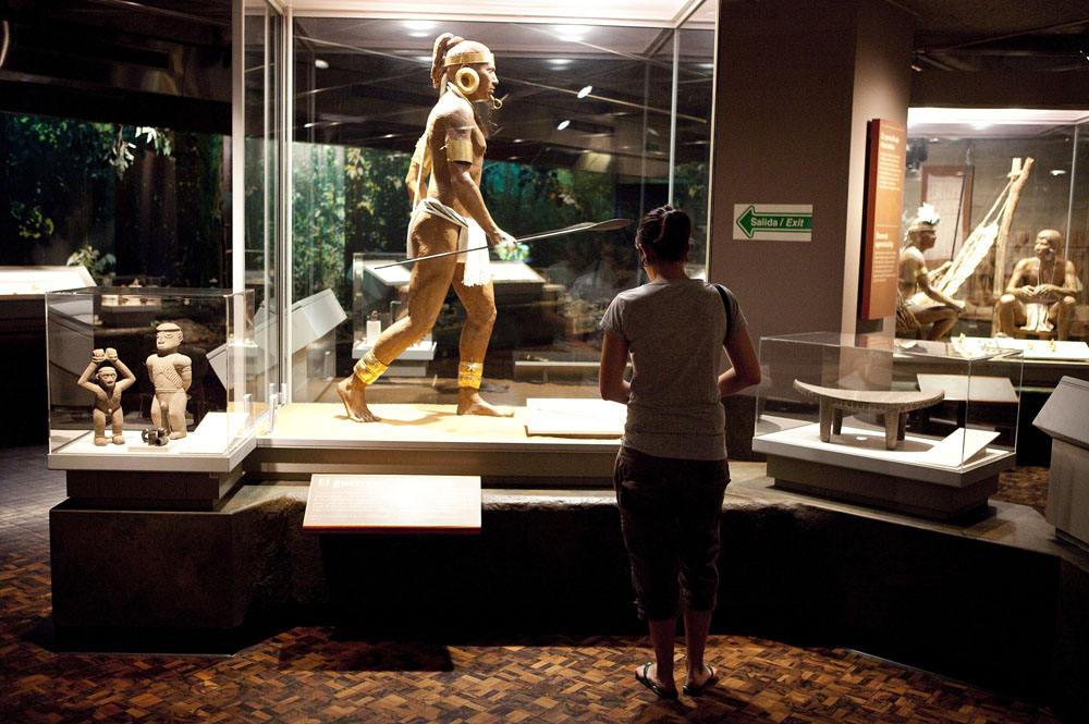 Museo de Oro, gold museum in San Jose. Photo: Corrie Wingate/APA