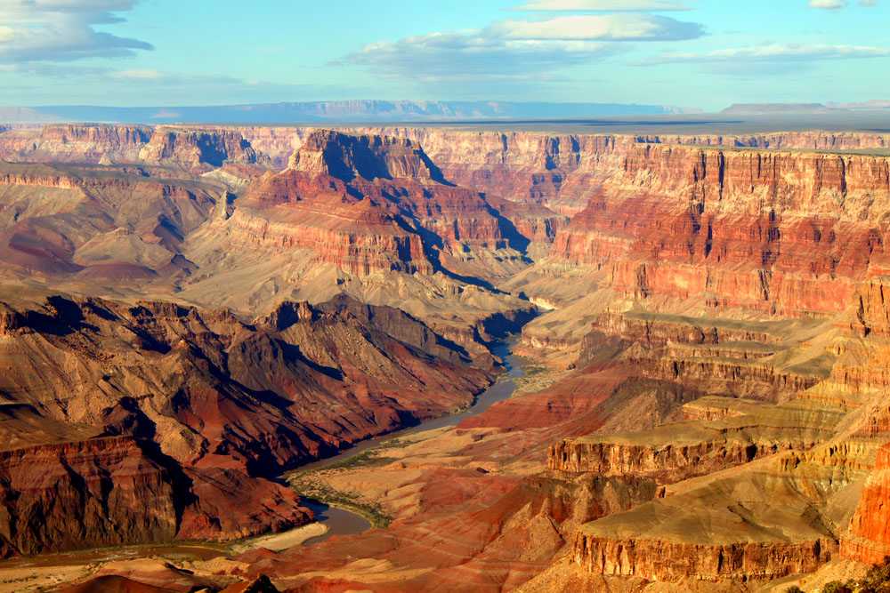 Grand Canyon National Park seen from Desert View.