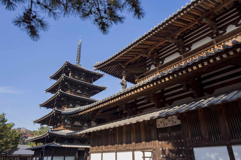 The historical Horyu Ji at Nara: an incredible example of Japanese architecture