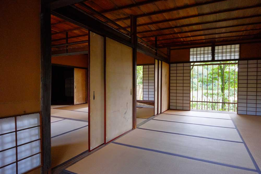 he Katsura Imperial Villa displays an example of Japanese interior deisng and architecture