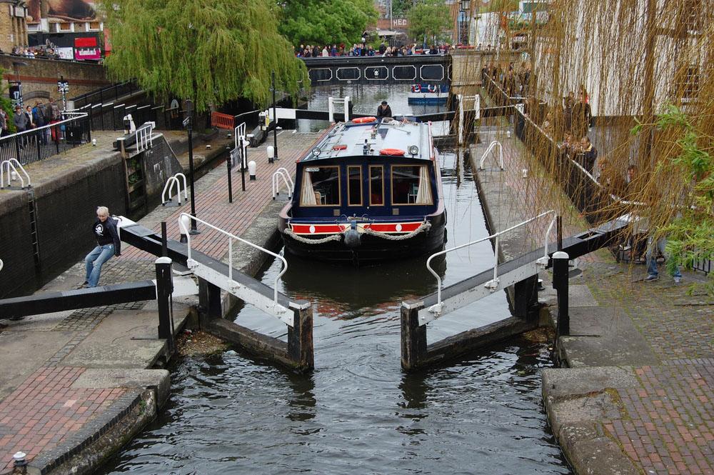 Camden Lock. Photo: Shutterstock