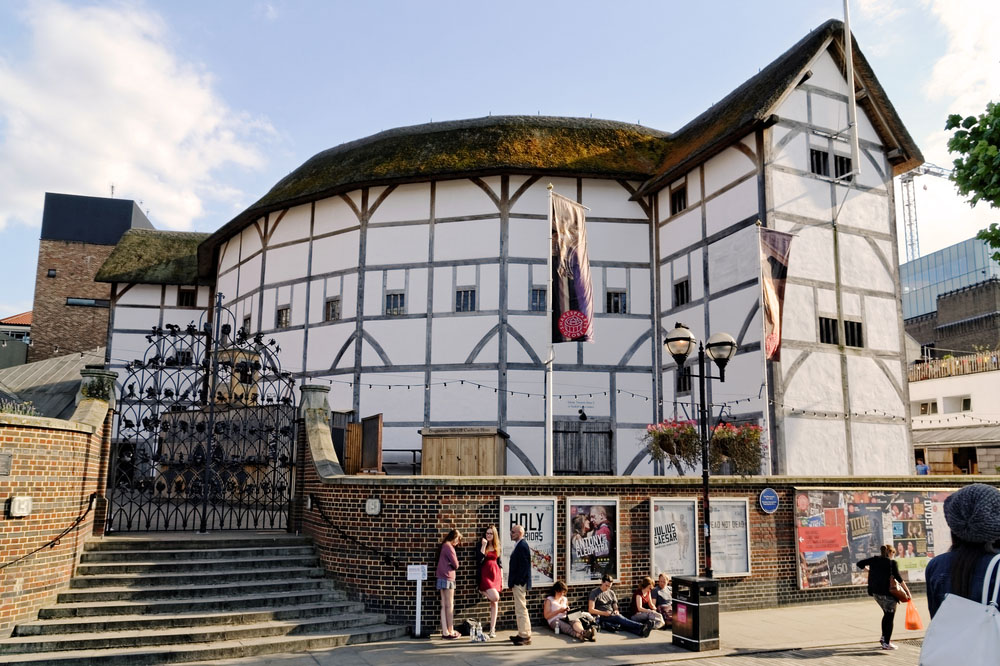 The Globe Theatre. Photo: Shutterstock