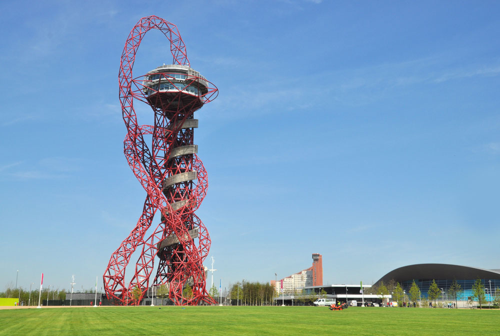 The ArcelorMittal Orbit at the Queen Elizabeth Olympic Park. Photo: Shutterstock