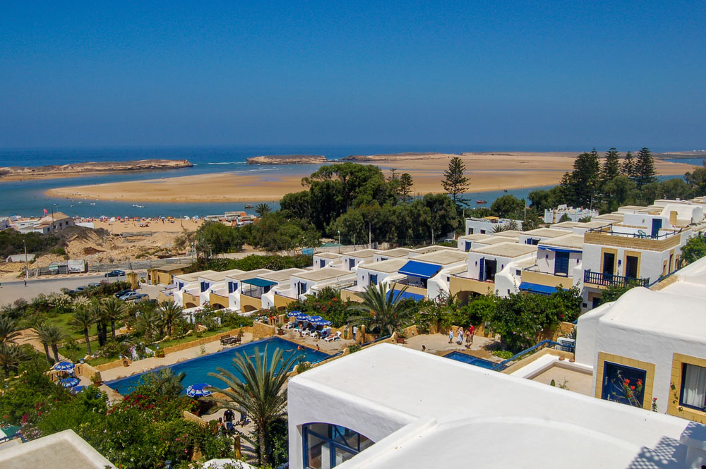 Best beaches in Morocco – Oualidia beach.