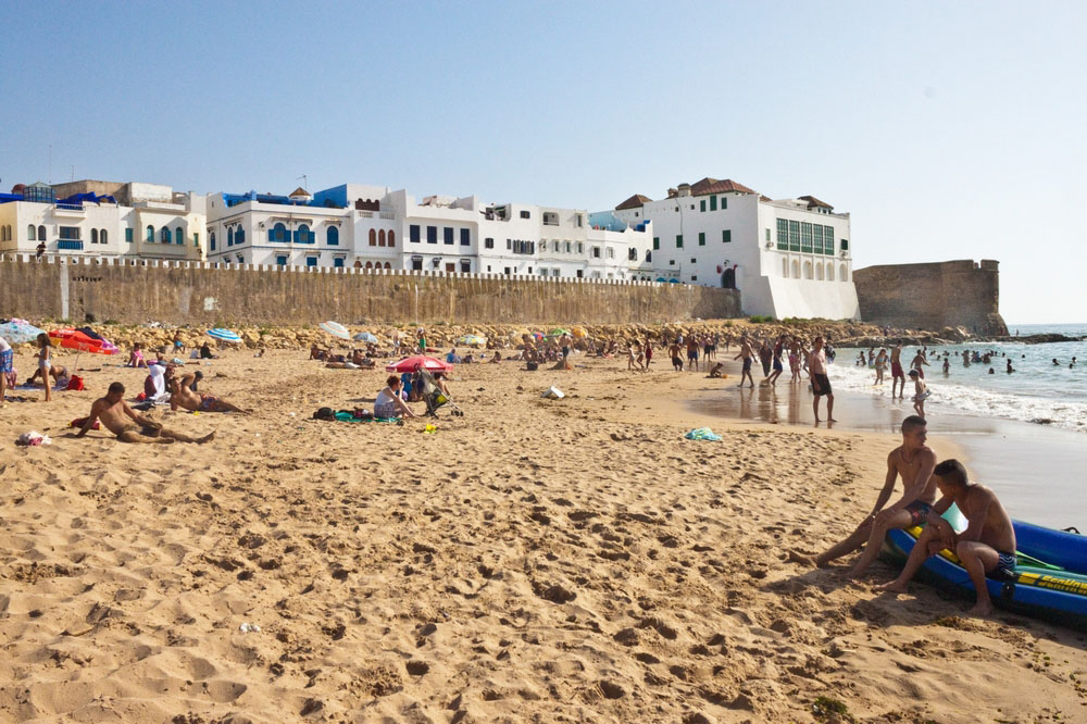 Best beaches in Morocco – Asilah is a fortified town at the northwest tip of the country's Atlantic coast.