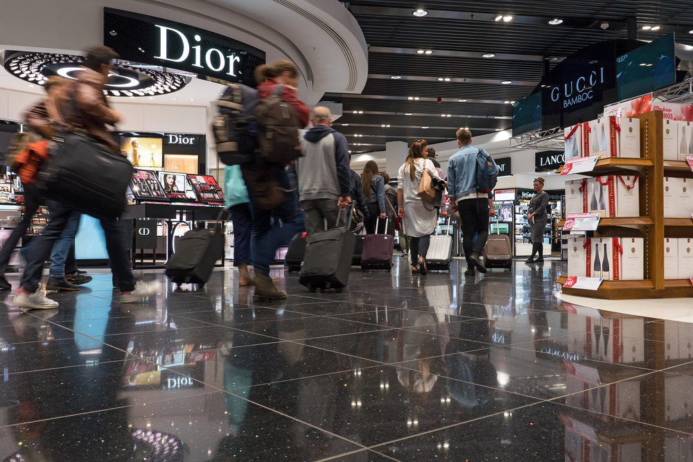Duty free shop at Heathrow Airport. Photo: Shutterstock