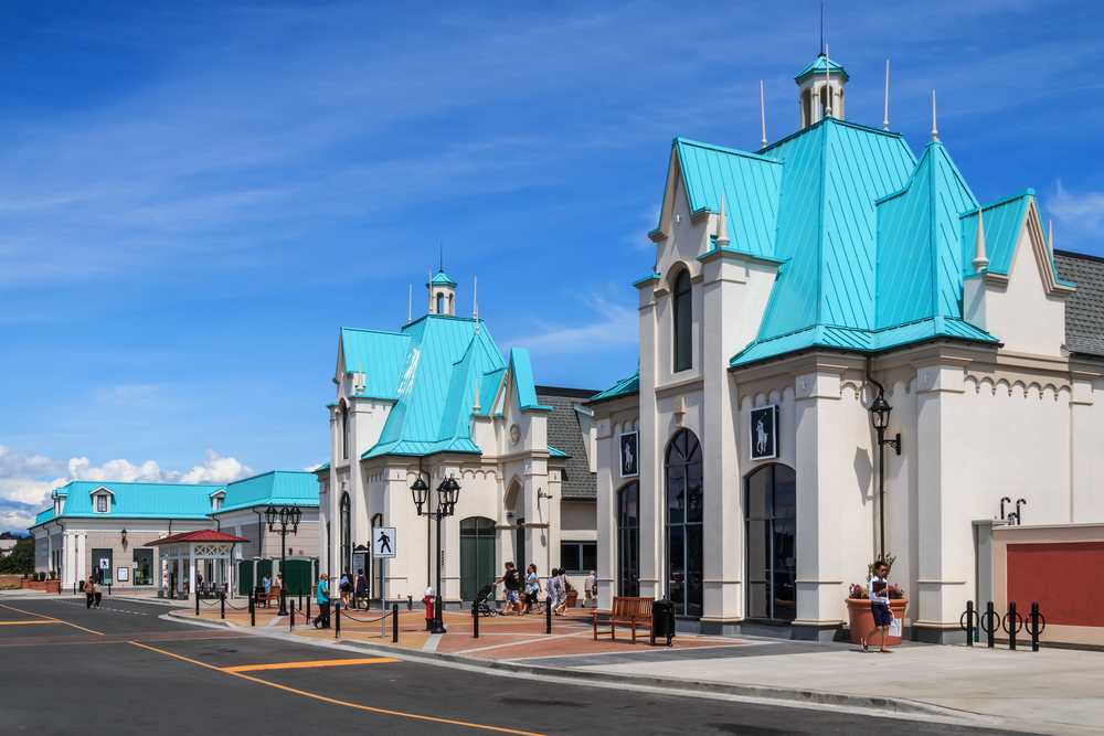 McArthurGlen Designer Outlet near the Vancouver Airport. Photo: Shutterstock