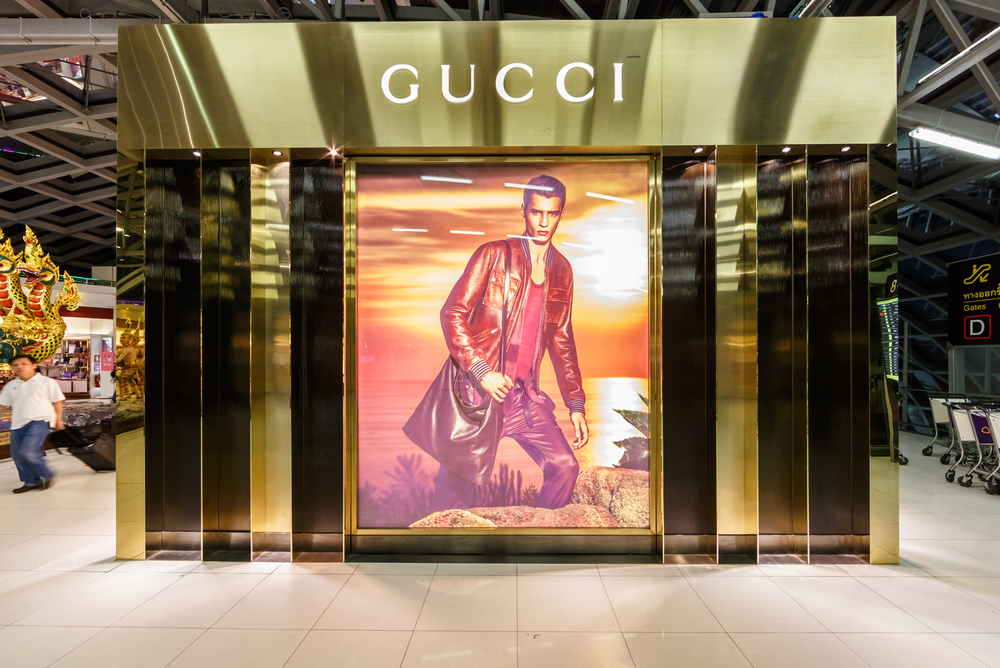 Gucci shop at Suvanaphumi Airport, Bangkok. Photo: Shutterstock