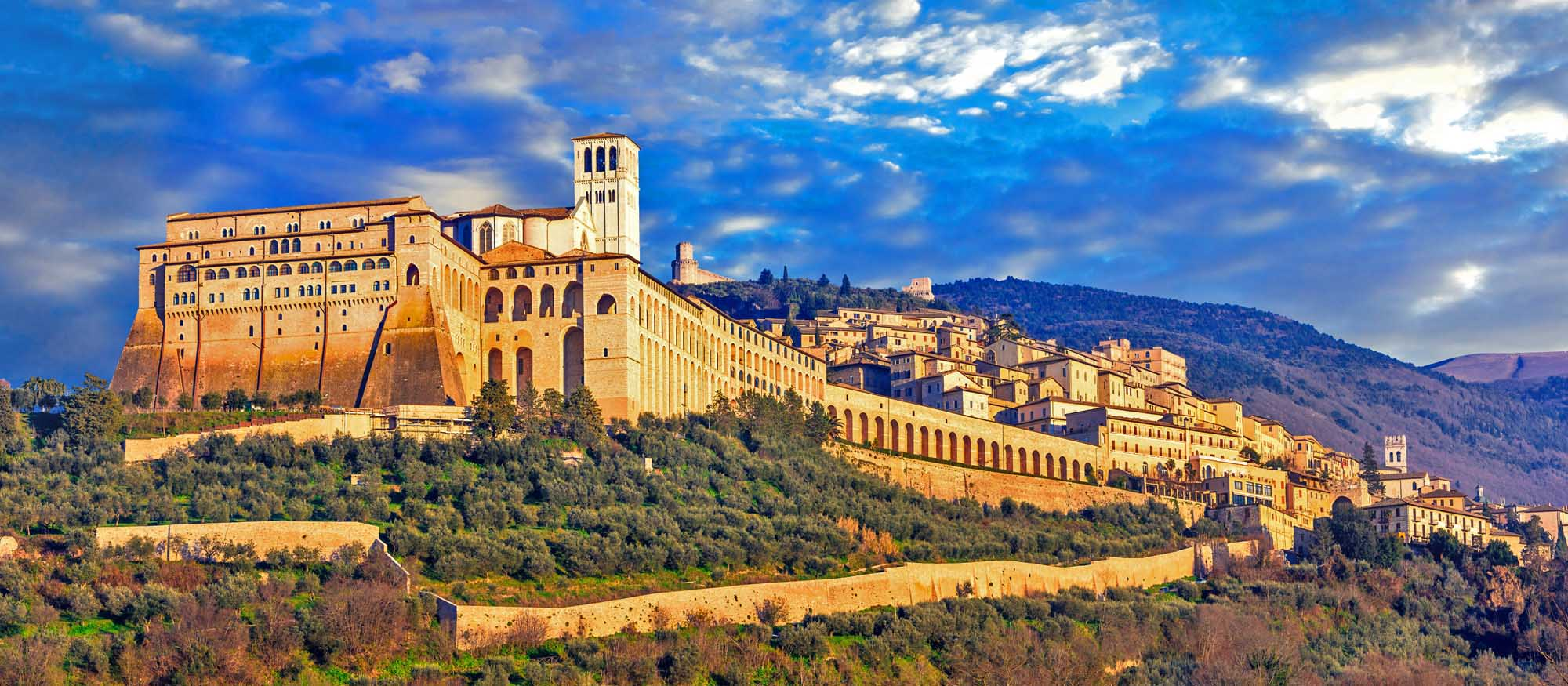 Impressive medieval Assisi town. Photo: Shutterstock