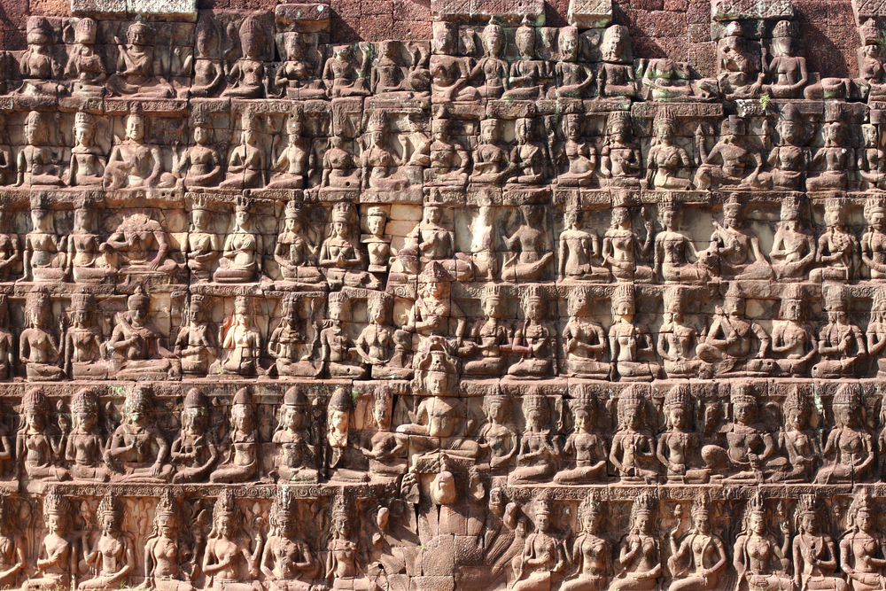 Wall stone of King terraces. Photo: happystock/Shutterstock