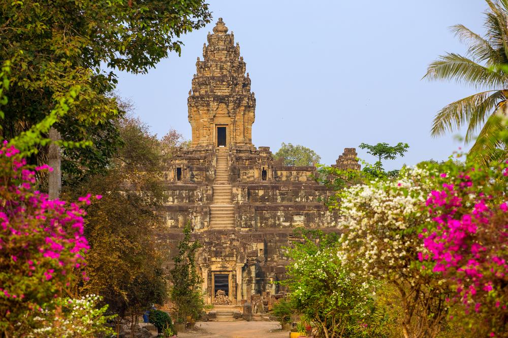 Bakong Prasat temple in Angkor Wat complex. Photo: Alexander Mazurkevich/Shutterstock