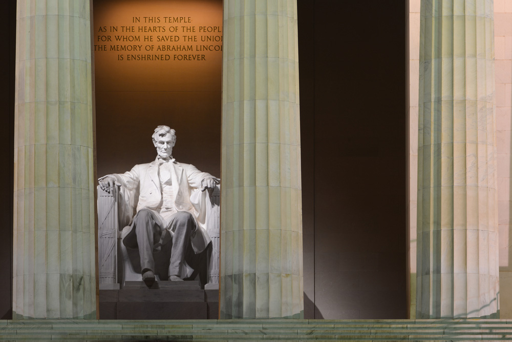 Washington DC - Lincoln Memorial. Photo: Shutterstock