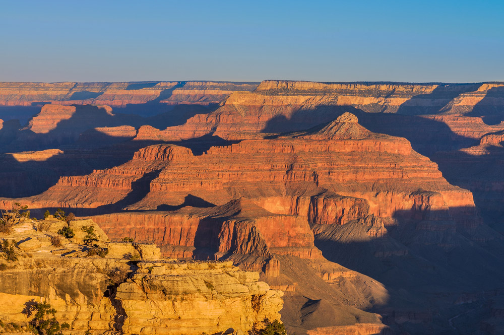 Amazing Sunrise Image of the Grand Canyon taken from Mather Point. Photo: Shutterstock