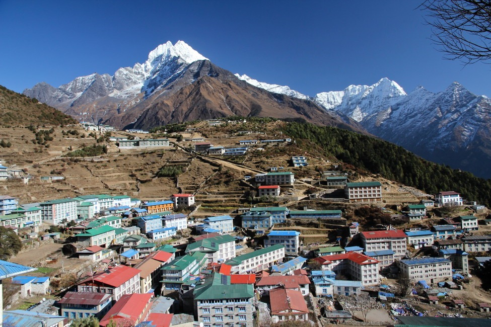 Namche Bazaar, Nepal. Photo: Trip provider