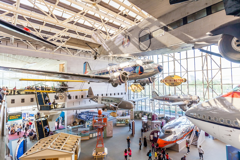 National Air and Space Museum, Washington. Photo: f11photo/Shutterstock
