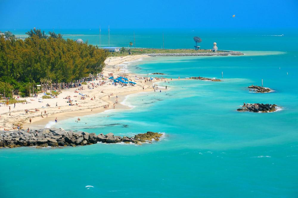 A beautiful Key West beach. Photo: Shutterstock