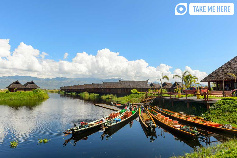 Inle Lake, one of Myanmar's most famous sights.