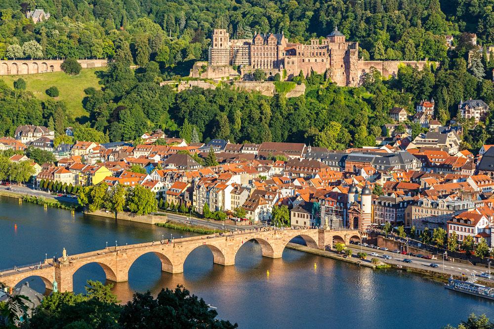 View of Heidelberg, Germany. Photo: Shutterstock