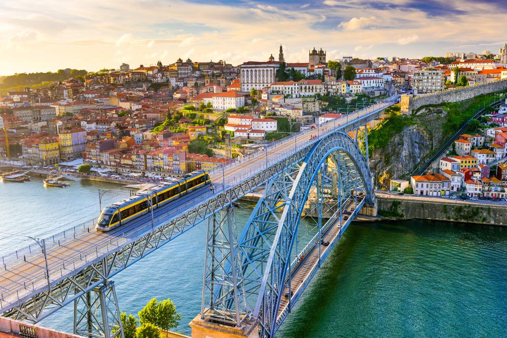 The Douro passes through Porto, Portugal. Photo: Shutterstock