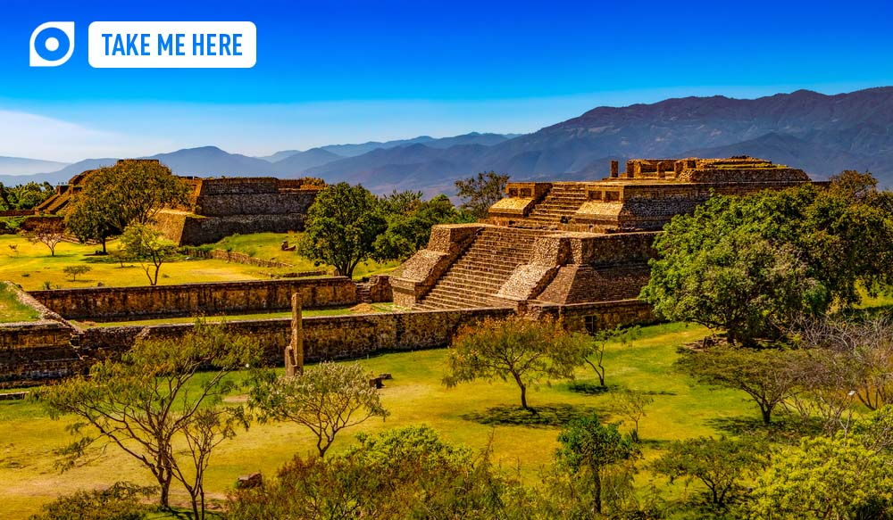 Archaeological site of Monte Albán – UNESCO World Heritage Site.