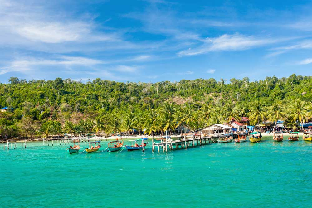 Tropical island Koh Rong