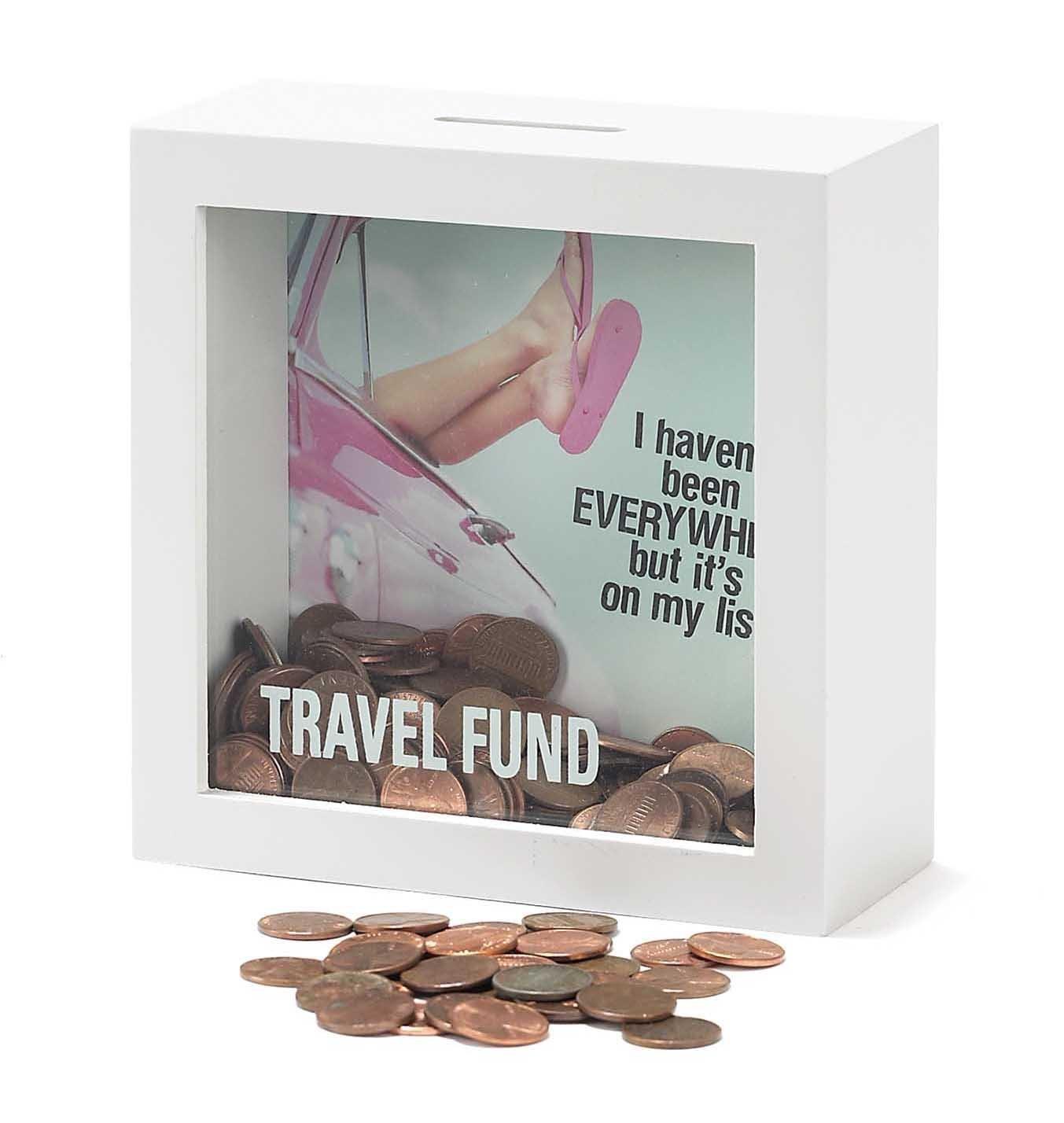 Shadow Box Bank - Travel Fund