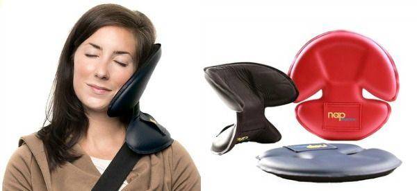 NapAnywhere Portable Head Support Pillow