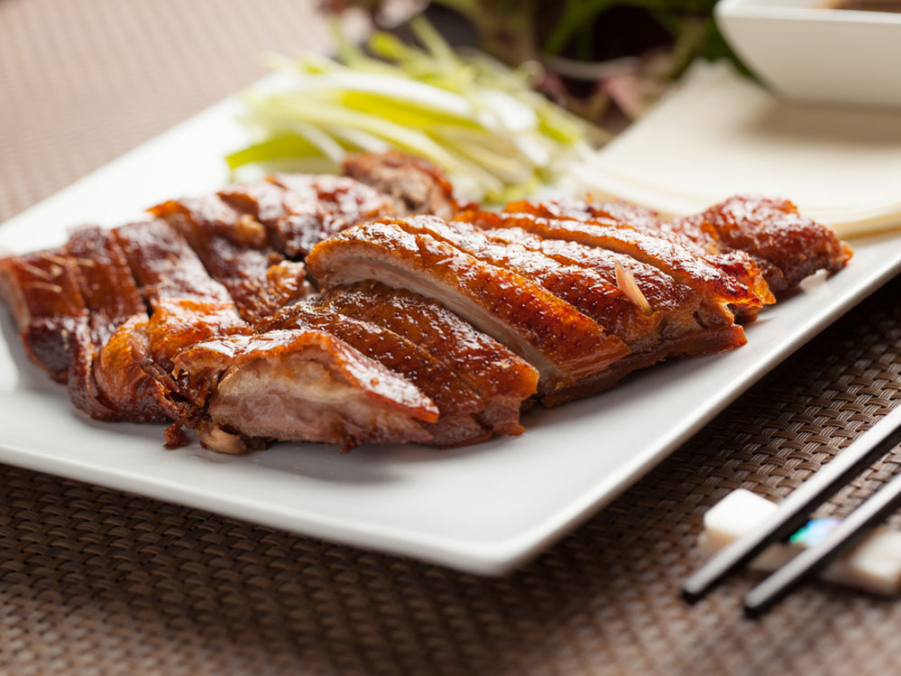 Peking duck, a Chinese specialty. Photo: Shutterstock