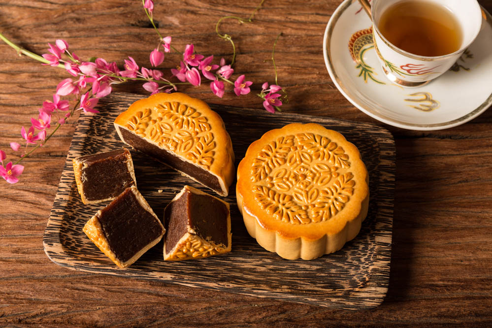 Chinese mooncake. Photo: Shutterstock