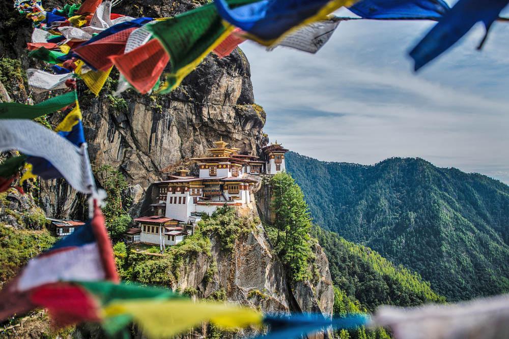 Tiger's nest monastery in Bhutan. Photo: Shutterstock
