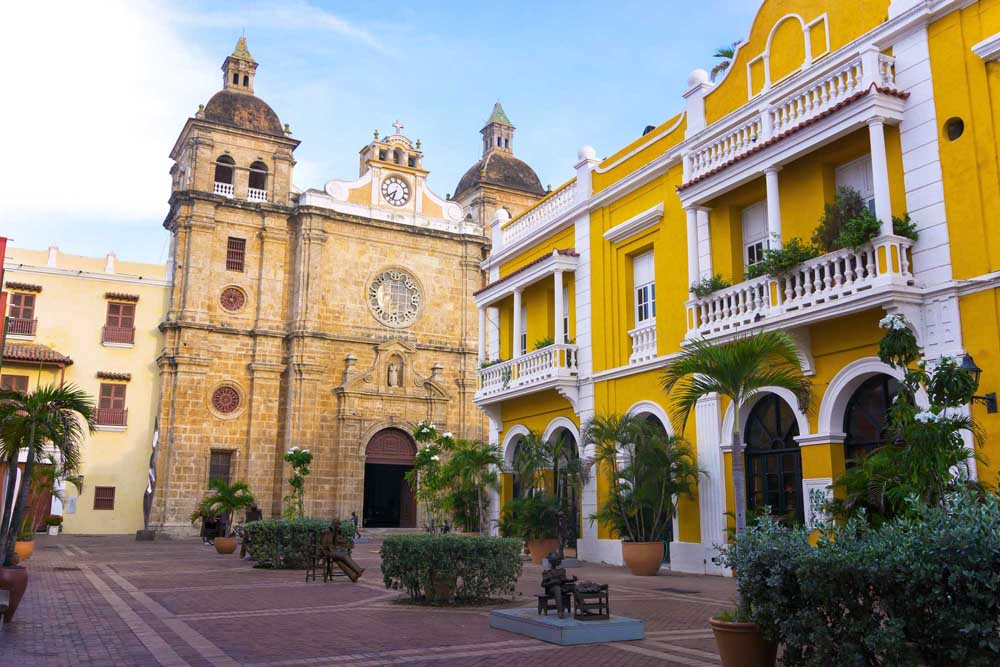 Church of St Peter Claver in Cartagena. Photo: Shutterstock