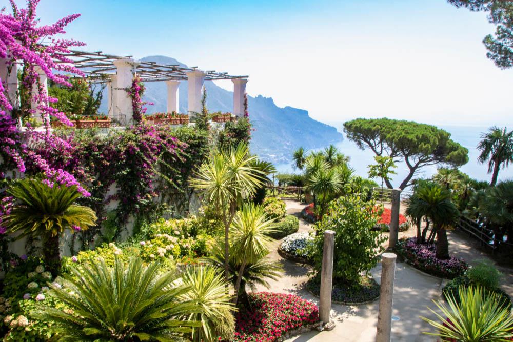Villa Rufolo's gardens, Ravello.