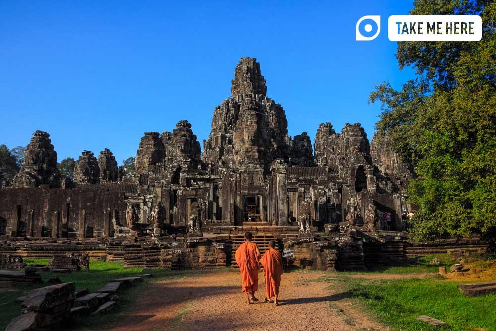 Bayon temple, Angkor, Cambodia.