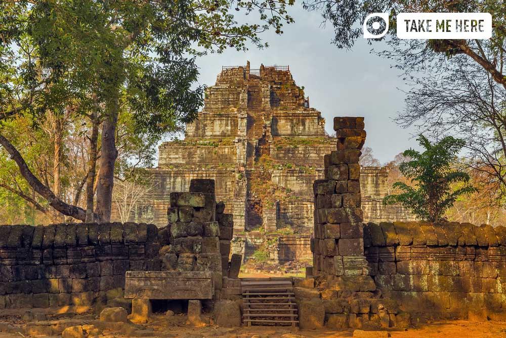 Beng Mealea temple, Cambodia.