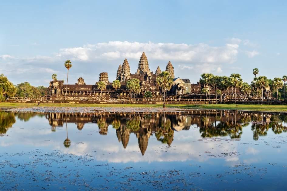 Angkor Wat, the famous Cambodia landmark