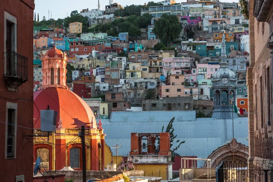 Guanajuato Town in Mexico