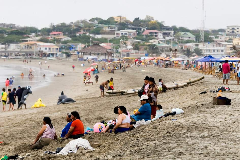Las Playas, Guayas province, South Coast, Ecuador