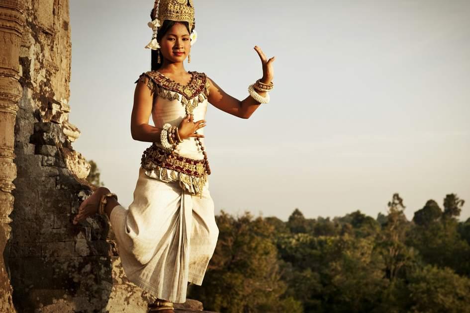 Apsara dancer at Angkor Wat, Cambodia