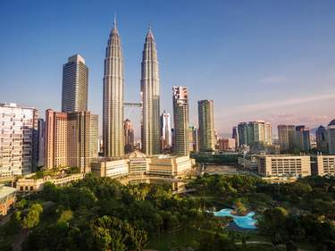 Kuala Lumpur with Twin Petronas Towers
