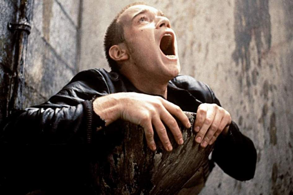 "Screenshot from ""Trainspotting"" movie"