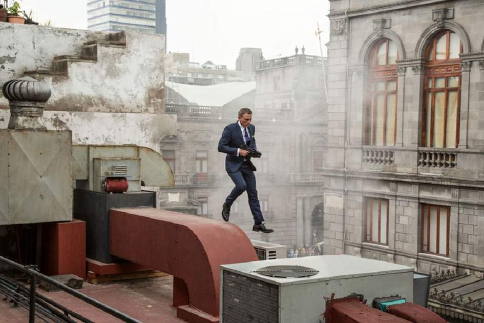 "Photo from ""Spectre"" movie"